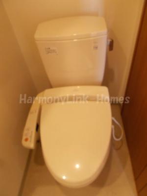 パークビュー山手大塚のコンパクトで使いやすいトイレです
