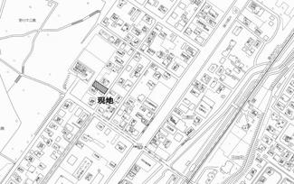 【地図】公園町 売土地