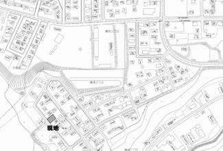 【地図】網走市鱒浦4丁目 売土地