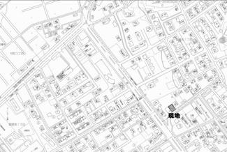 【地図】網走市駒場北1丁目 売土地