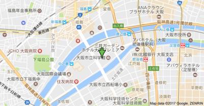 【地図】プロスペクト中之島