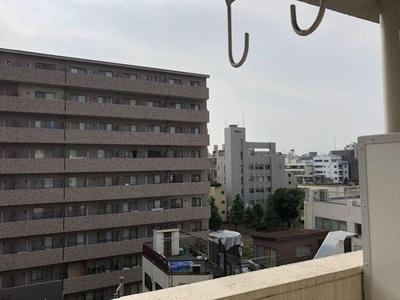 7階建6階部分からの眺望です。