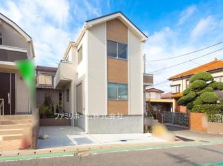 千葉市稲毛区天台 新築一戸建 ※令和2年11月撮影写真です。
