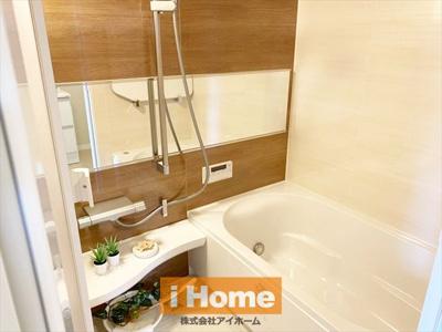 浴室新調しています! 追焚機能、浴室換気乾燥機付きです!