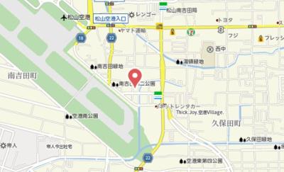 【地図】キスメット・メゾン
