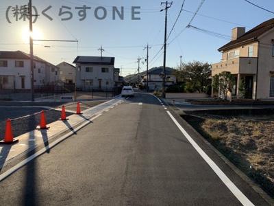 【前面道路含む現地写真】揖保郡太子町矢田部/17区画
