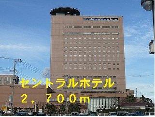 セントラルホテルまで2700m