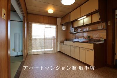 【キッチン】戸頭団地7-7-25