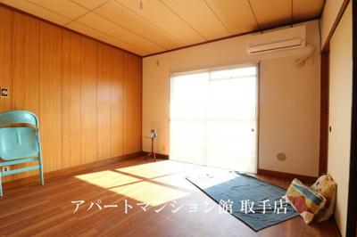 【居間・リビング】戸頭団地7-7-25
