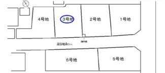 【土地図】守山市荒見町 3号地 売土地