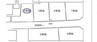 【土地図】守山市荒見町 4号地 売土地