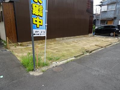 【外観】売土地 大東市御供田1丁目(建築条件無・更地)