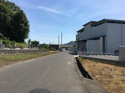 【前面道路含む現地写真】福山市加茂町下加茂1,141.3万円土地