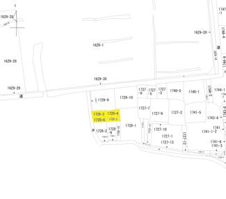 【土地図】足利市本城1丁目