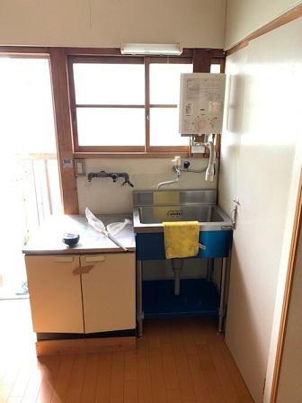 【キッチン】神戸市垂水区五色山4丁目 中古テラス