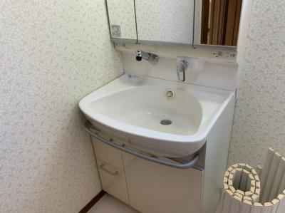 【洗面所】上杉住宅