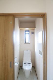 千葉市花見川区検見川町 新築一戸建て 新検見川駅 2Fトイレです