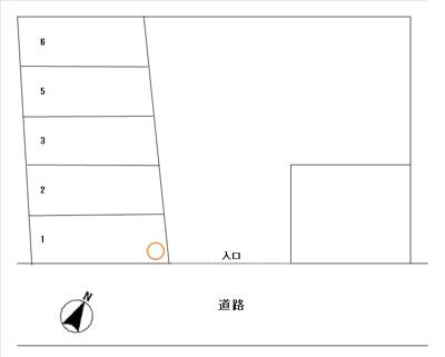 【区画図】№141駐車場