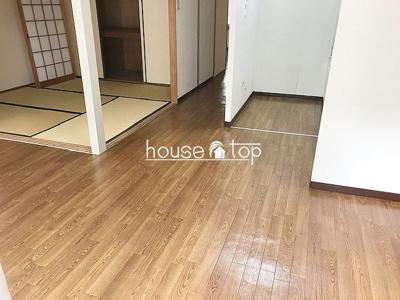 【居間・リビング】甲子園住宅