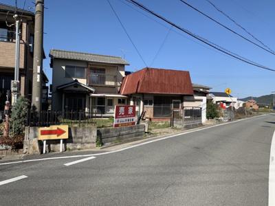 【前面道路含む現地写真】揖保郡太子町吉福/売土地