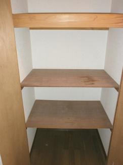 十分な収納スペースがあります。グレースKⅡ