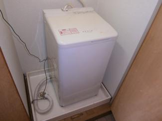洗濯機付付です。グレースKⅡ