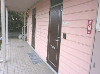ゆったりとした玄関です。グレースKⅡ