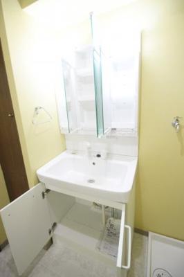 独立洗面台設置