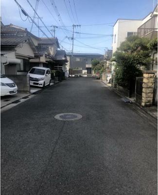 【前面道路含む現地写真】和歌山市太田 売土地