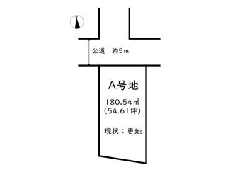【区画図】揖保郡太子町東南/A号地