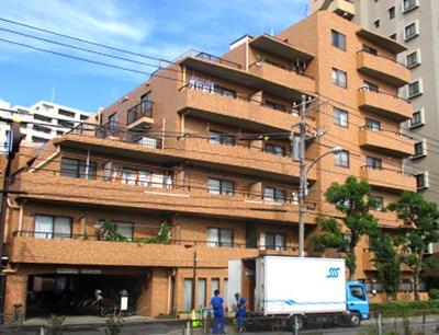 【外観】ライオンズマンション青戸第5