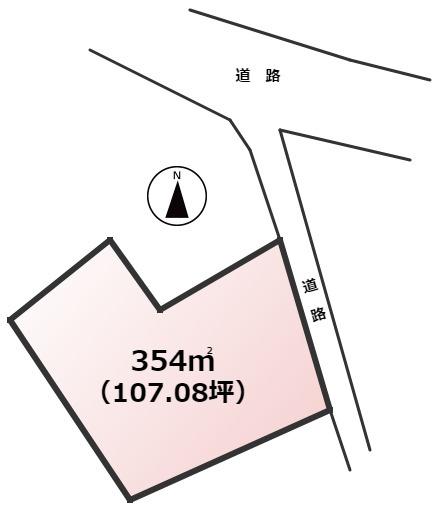 【土地図】宇美町貴船1丁目土地