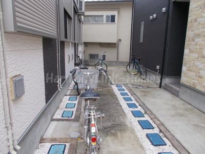 中野中央レジデンスの駐輪スペース☆