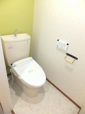 トイレもお洒落なデザインクロス