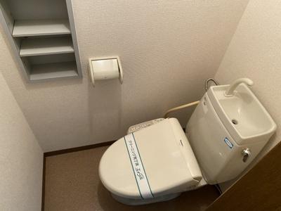 【トイレ】西ノ京月輪町貸家