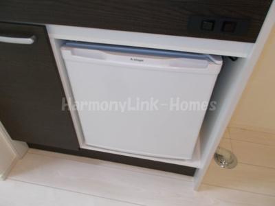 ハーモニーテラス西尾久Ⅱのミニ冷蔵庫