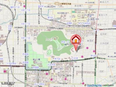 【地図】ウインド・ビュー大街道