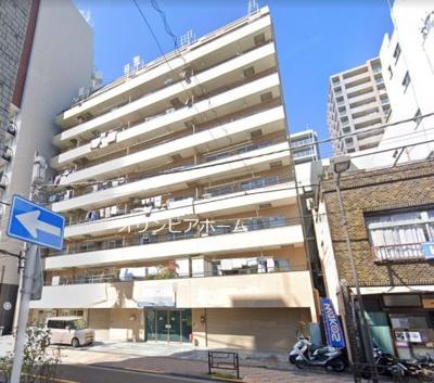【外観】ジュネシオン竜泉 8階 角 部屋 リ ノベーション済