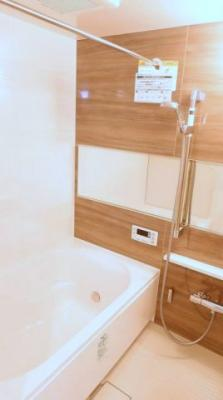【浴室】ジュネシオン竜泉 8階 角 部屋 リ ノベーション済