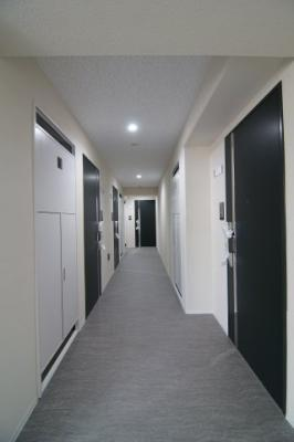 ホテルライクな共用廊下