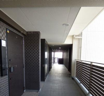 共用廊下です