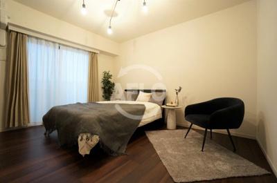 夕陽ヶ丘リバーガーデン 寝室8帖はゆとりのある仕様です