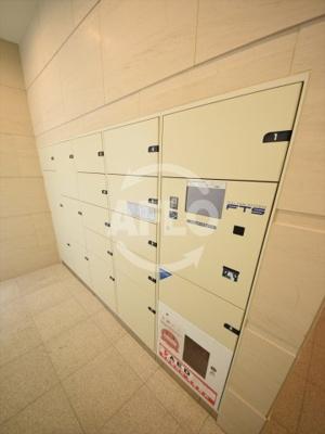 夕陽ヶ丘リバーガーデン 宅配ボックス完備しております