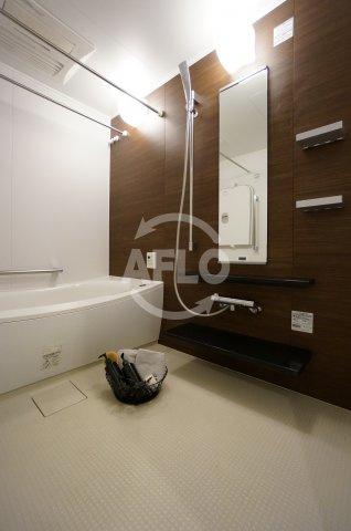 夕陽ヶ丘リバーガーデン バスルームは広々1620タイプです
