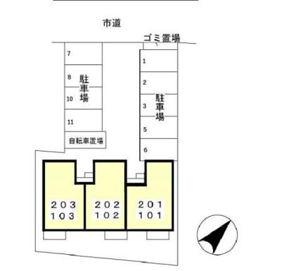 【区画図】セピアコート