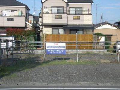 【外観】関根呉服店駐車場