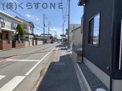 【前面道路含む現地写真】揖保郡太子町鵤/新築戸建