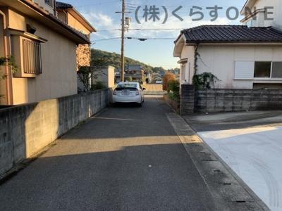 【前面道路含む現地写真】揖保郡太子町矢田部/中古戸建