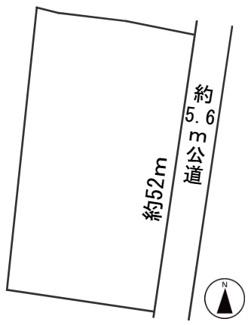 【区画図】55423 瑞穂市美江寺土地