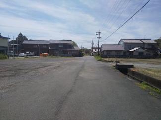 【前面道路含む現地写真】55423 瑞穂市美江寺土地
